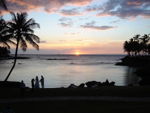 ワイウルワ湾の夕陽(3)