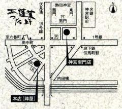 蓬莱軒地図